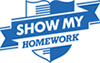 Show my homework is a web-based calendar for tracking and monitoring homework.